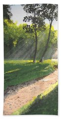 Walk Into The Light Bath Towel by Norm Starks