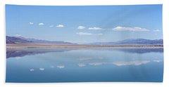 Walker Lake Mirror Bath Towel by Jennifer Nelson
