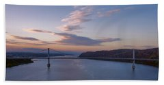 Walkway Over The Hudson Dawn Bath Towel