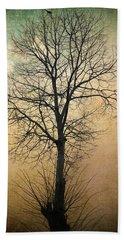 Waltz Of A Tree Bath Towel by Taylan Apukovska