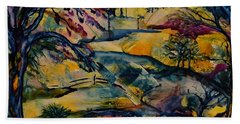 Wandering Woods Bath Towel