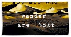 Wanderlust Hand Towel