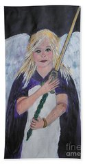 Warrior Angel Hand Towel