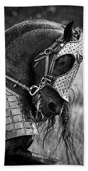 Warrior Horse Bath Towel