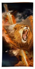 Warrior's Heart Bath Towel