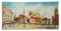 Warsaw- Castle Square Bath Towel