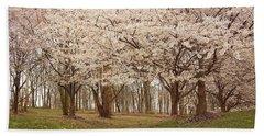 Washington Dc Cherry Blossoms Hand Towel