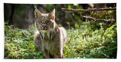 Watchful Mama Lynx Bath Towel
