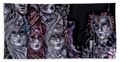 Watching You Venice Italy Hand Towel by Tom Prendergast