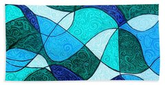 Water Abstract Hand Towel