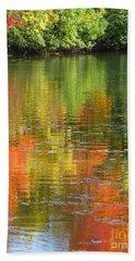 Water Colors Bath Towel by Ann Horn