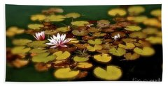 Bath Towel featuring the photograph Water Lilies by Linda Bianic