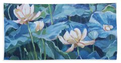 Water Lilies Two Bath Towel