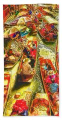 Water Market Bath Towel