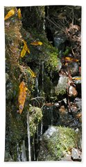 Hand Towel featuring the photograph Water Of Life by Michele Myers