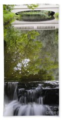 Water Reflection Bath Towel