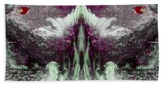 Bath Towel featuring the photograph Water Spirit I by Lanita Williams