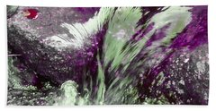Water Spirit II Bath Towel by Lanita Williams