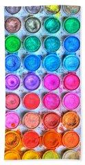 Watercolor Delight Bath Towel