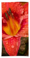 Watered Lily Bath Towel