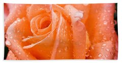 Watered Rose Hand Towel