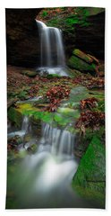 Frankfort Mineral Springs Waterfall  Hand Towel