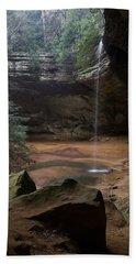 Waterfall At Ash Cave Bath Towel