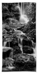 Waterfall At Rainbow Springs Hand Towel by Beverly Stapleton