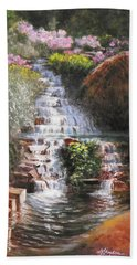 Waterfall Garden Hand Towel