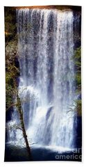 Waterfall South Bath Towel by Susan Garren