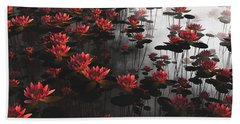 Waterlillies Bath Towel