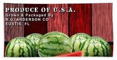 Watermelon Farm Hand Towel