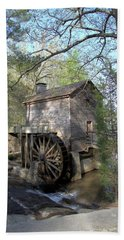 Hand Towel featuring the photograph Waterwheel At Stone Mountain by Gordon Elwell