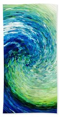 Wave To Van Gogh Bath Towel
