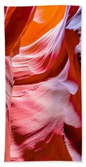 Waves Of Redrock Bath Towel