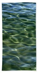 Waves On Lake Tahoe Bath Towel
