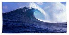 Waves Splashing In The Sea, Maui Hand Towel
