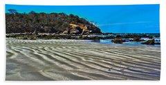 Wavy Beach Bath Towel