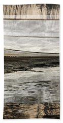 Bath Towel featuring the photograph Wavy Reflections by Sue Smith