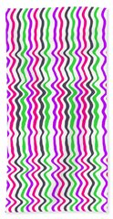 Wavy Stripe Hand Towel