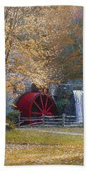 Wayside Inn Grist Mill Bath Towel