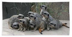 We Are Family Bath Towel by Judy Whitton
