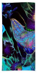 Webbed Galaxy Bath Towel