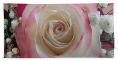 Hand Towel featuring the photograph Wedding Bouquet by Deb Halloran