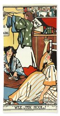 Wee Small Hours 1909 Bath Towel by Padre Art