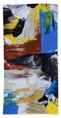 Bath Towel featuring the painting Weekend Retreat by Heidi Smith