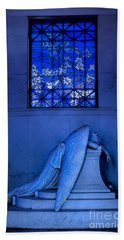 Weeping Angel Hand Towel by Jerry Fornarotto