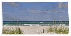 Hand Towel featuring the photograph Welcome To Mexico Beach by Kenny Francis