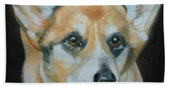 Welsh Corgi Bath Towel