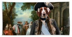 Welsh Springer Spaniel Art Canvas Print Hand Towel